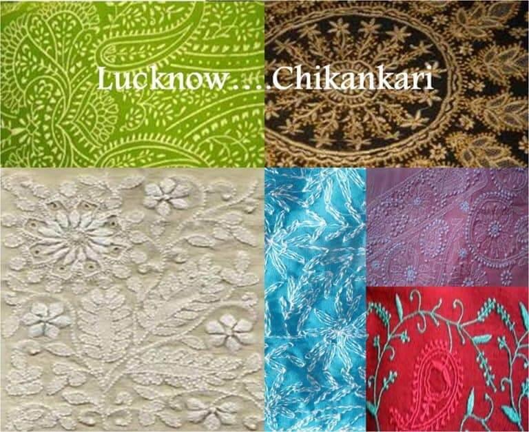 Chikankari Embroidery