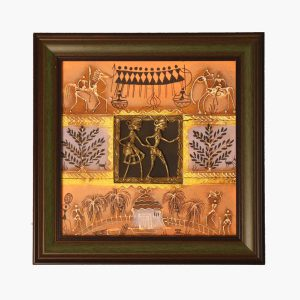 Handcrafted-Tribal-Dokra-Work-Painting
