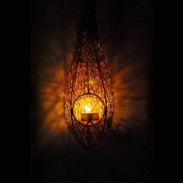 Handmade-Metal-T-Light-Lantern